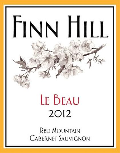 finn-hill-winery-le-beau-cabernet-sauvignon-2012-label
