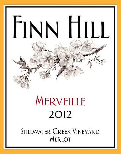 finn-hill-winery-stillwater-creek-vineyard-merveille-merlot-2012-label
