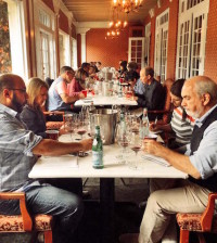 Five panels of judges evaluated 561 entries at the Great Northwest Invitational Wine Competition on Oct. 7-8, 2015, at the historic Columbia Gorge Hotel in Hood River, Ore.