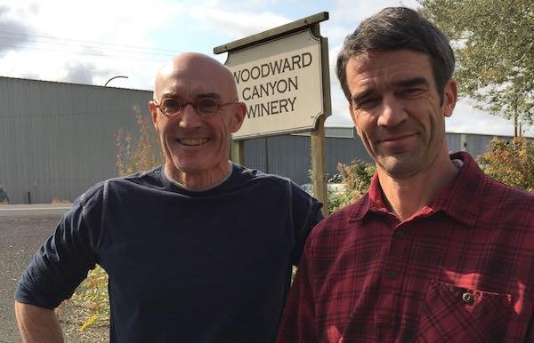 Woodward Canyon Winery owner Rick Small.