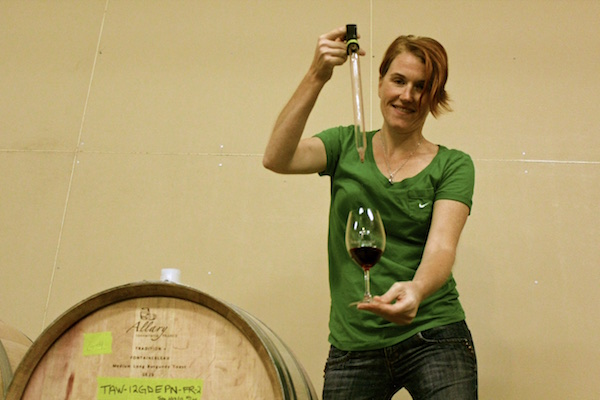 Rebecca Pittock Shouldis helped launch Ghost Hills Cellars as the winemaker in 2008. (Photo by Allie Merrick/MyWineWords.com)