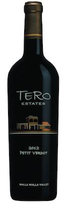 TERO Estates 2012 Petit Verdot bottle