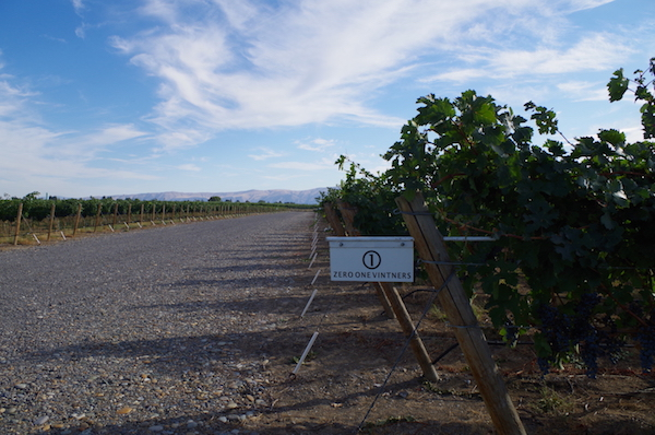 Zero One Vintners sources grapes throughout Washington's Columbia Valley and has worked with winemaker Joshua Maloney and the Milbrandt brothers' Wahluke Wine Co.