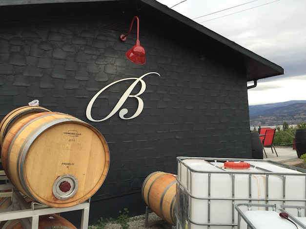 Bella Sparkling Wines in Naramata, British Columbia, continues to focus on single vineyards and offers visitors a view of Okanagan Lake.