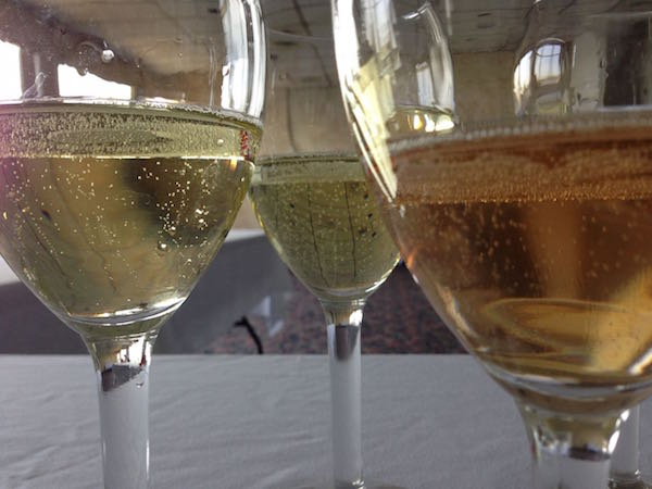 Sparkling wine is made in many styles.
