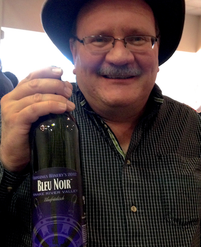Doug Jones, general manager of Crossings Winery, has trademarked the terms Bubbles for his sparkling wine and Bleu Noir for his Blaufrankisch, also known as Lemberger.