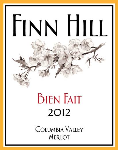 finn-hill-winery-bien-fait-merlot-2012-label