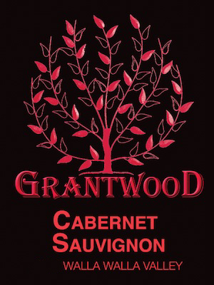 Grantwood Winery Cabernet Sauvignon label