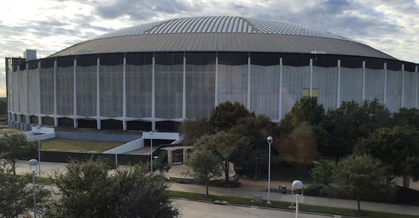 "Houston's iconic Astrodome opened in 1965 as the world's first domed stadium. The 70,000-seat edifice, nicknamed the unofficial ""Eighth Wonder of the World"" upon completion by Texas businessman Roy Hofheinz, has been mothballed since 2009."