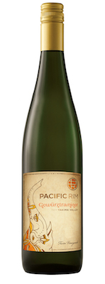 Pacific Rim Winemakers Twin Vineyards Gewurztraminer bottle