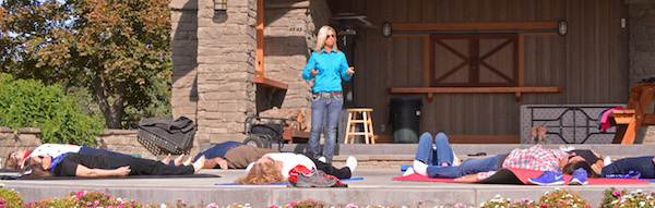 Tiffany Fewel is a guild-trained Feldenkrais Method practitioner whose clients include Yakima Valley wine tourists.