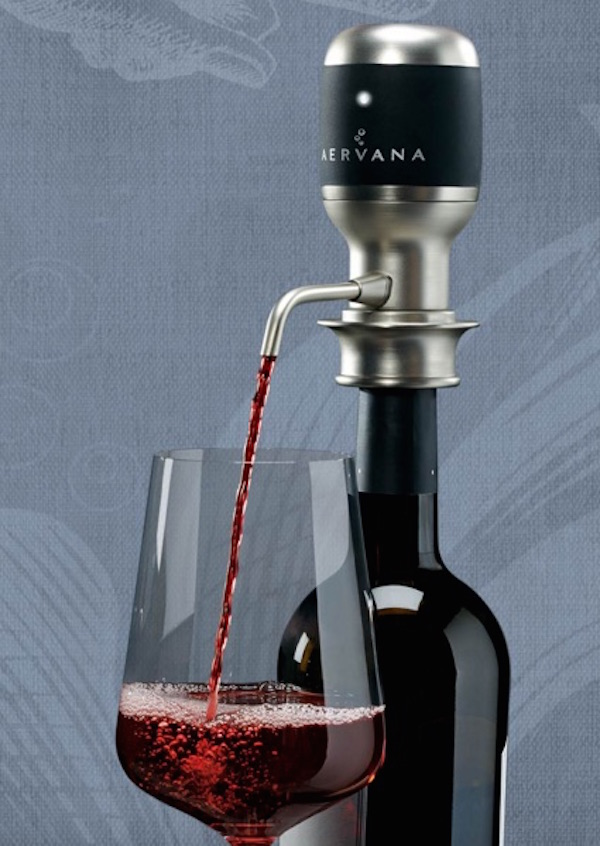 Aervana is a wine aeration system.