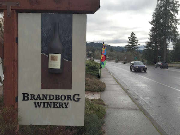 Brandborg Winery is in Elkton, Ore.