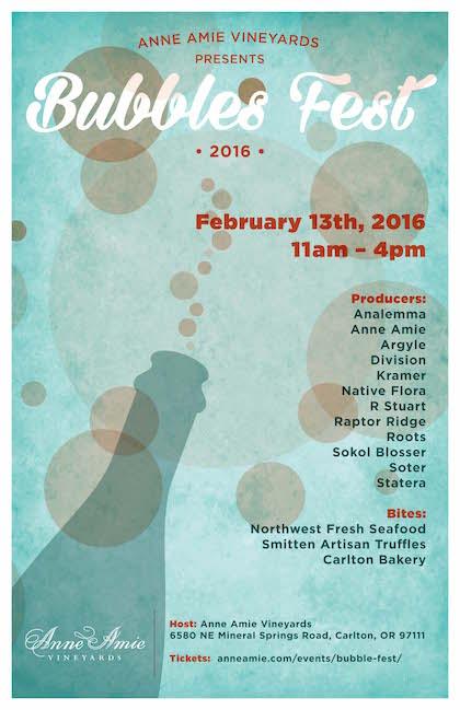 Bubbles Fest 2016 poster