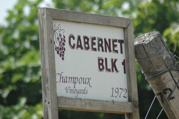 Champoux Vineyards is in Washington's Horse Heaven Hills.