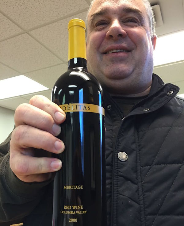 Charlie Hoppes is the owner of Fidelitas Wines on Washington's Red Mountain.