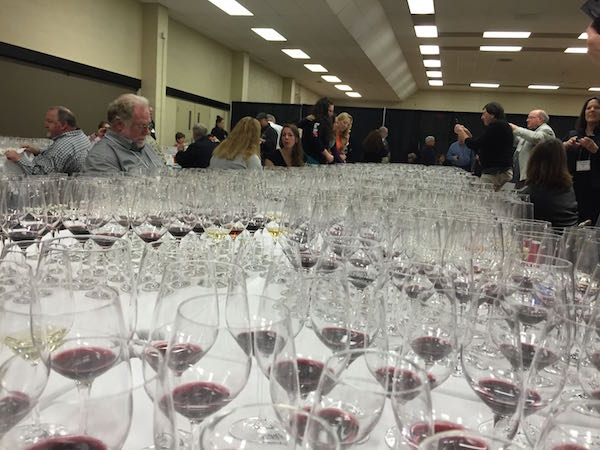 San Francisco Chronicle Wine Competition in Cloverdale, Caifornia.