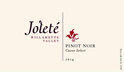 joleté-wines-cuvee-select-pinot-noir-2014-label
