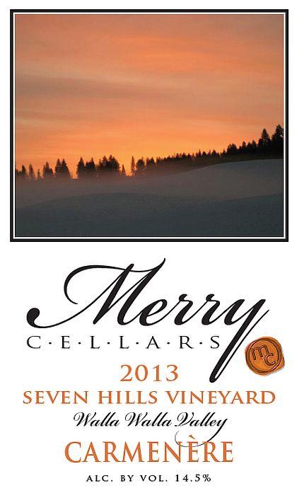 merry-cellars-seven-hills-vineyard-carménère-2013-label