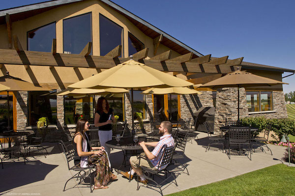 Northstar Winery provides a patio where customers may enjoy a picnic lunch.