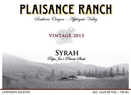 plaisance-ranch--syrah-2013-label