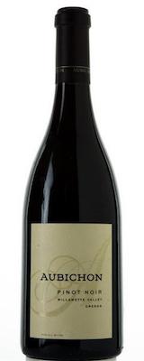 Aubichon Cellars Pinot Noir, Willamette Valley bottle