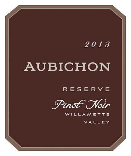 aubichon-cellars-reserve-pinot-noir-2013-label