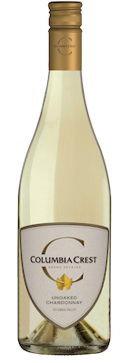 Columbia Crest Grand Estates Unoaked Chardonnay NV bottle