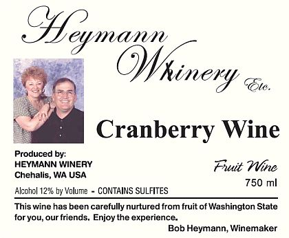heymann-whinery-cranberry-wine-label