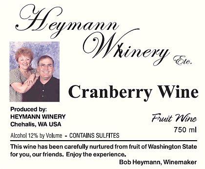 heymann-whinery-cranberry-wine-label