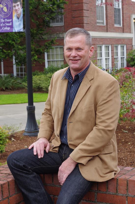 Jeff Peterson, associate professor of sociology at Linfield College, serves as program coordinator for the wine studies minor.