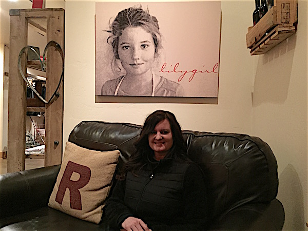 Rachael Martin's daughter, Lily, serves as an inspiration at Red Lily Vineyards in Oregon's Applegate Valley.