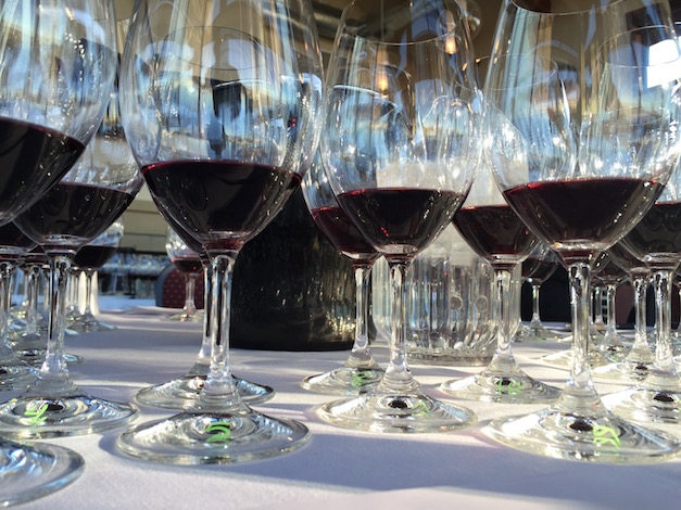 A dozen examples of Marquette — a cross from French hybrid cultivar Ravat 262 and University of Minnesota MN 1094 — were poured on Jan. 29, 2016 at the Walter Clore Wine and Culinary Center in Prosser, Wash. The grape, related to Pinot Noir and Minnesota-based Frontenac, is named for Pere Marquette, a 17th century Jesuit missionary and North American explorer.
