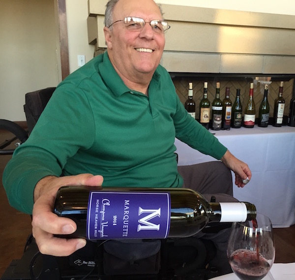 Paul Champoux retired in 2014 as vineyard manager of famed Champoux Vineyard, which is where he planted the obscure red grape Marquette as a tribute to his alma mater — Marquette High School in Yakima, Wash. His Marquette wines are made in conjunction with Charlie Hoppes of Fidelitas on Red Mountain and Wine Boss in Richland.