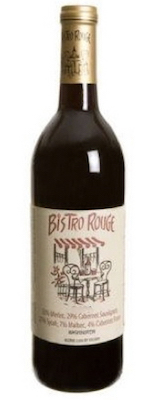 Pend d'Oreille Winery Bistro Rouge bottle