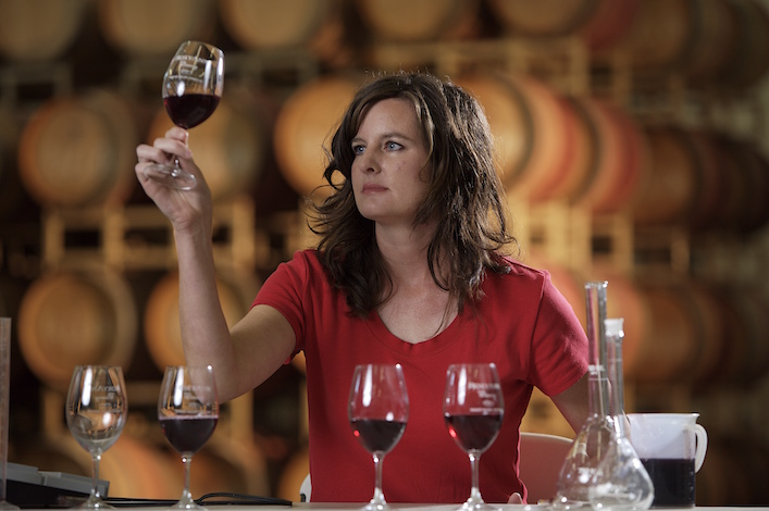 Rachael Martin, winemaker and co-owner of Red Lily Vineyards in Jacksonville, Ore., began working in Southern Oregon cellars with the late Sarah Powell.
