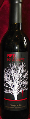 Red Lily Vineyards Red Blanket Tempranillo bottle
