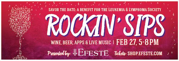 Rockin' Sips 2016 poster