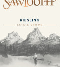 Sawtooth Riesling label