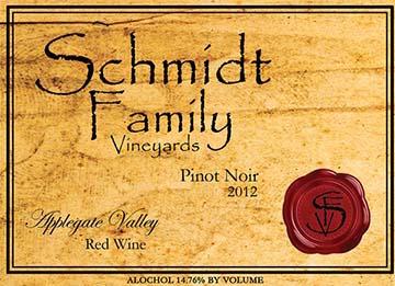 schmidt-family-vineyards-pinot-noir-2012-label