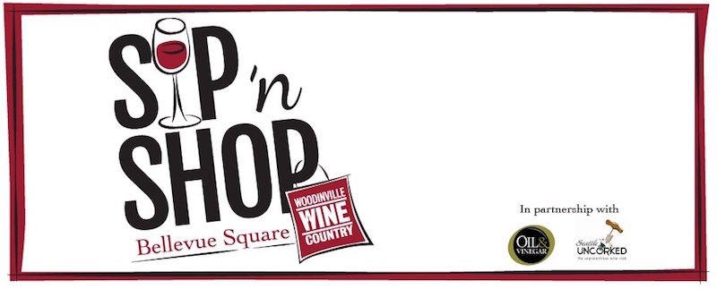 BELLEVUE, Wash. — Oil & Vinegar and Woodinville Wine Country are teaming to bring you Sip & Shop, a fun and interactive shopping and sipping event featuring ...