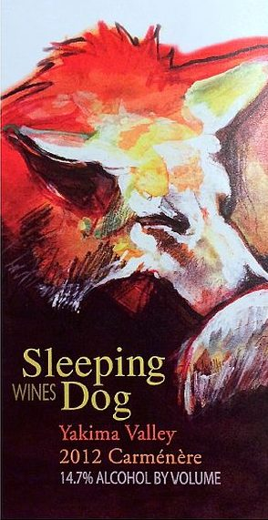sleeping-dog-wines-carmenere-2012-label