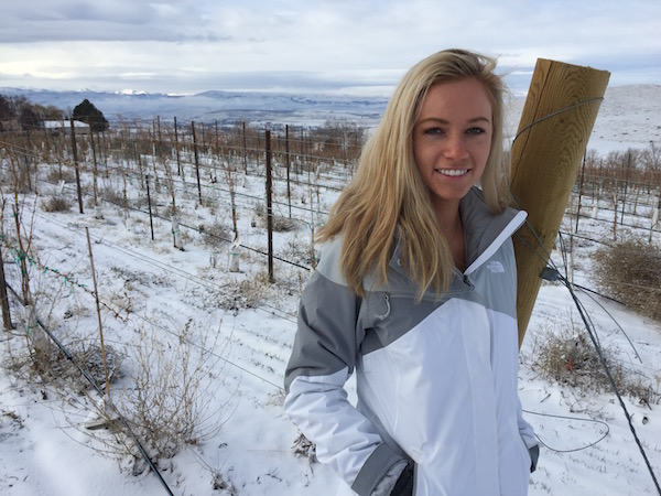 Sydney Weitz-Nederend has partnered with her father, Joe Weitz, to plant Scoria Vineyard in Idaho's Snake River Valley. She and her husband, James Nederend, will release their first wines in 2013.