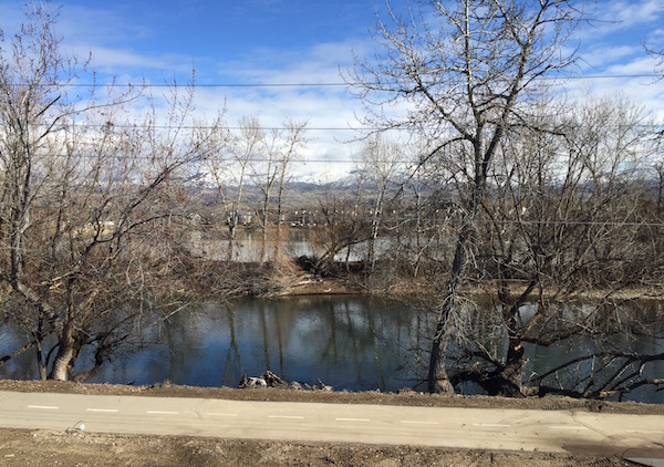 Guests of Telaya Wine Co., and Coiled Wines receive views of the Boise River and the Boise foothills.