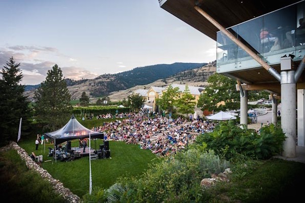 Tinhorn Creek Vineyards holds concerts.