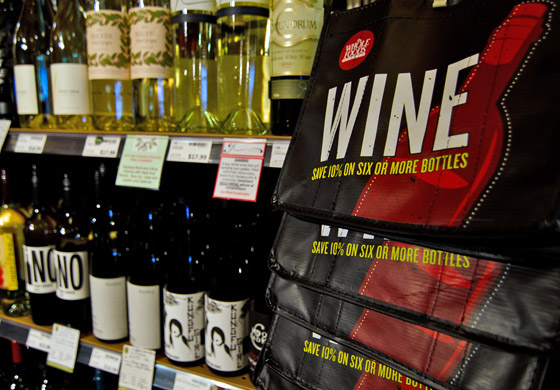 Wines from the Pacific Northwest receive solid placement in Whole Foods Market stores across the United States.