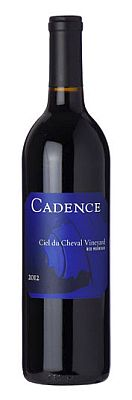 cadence-ciel-du-cheval-vineyard-2012-bottle