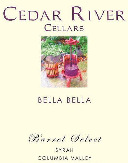 cedar-river-cellars-bella-bella-barrel-select-syrah-2013-label