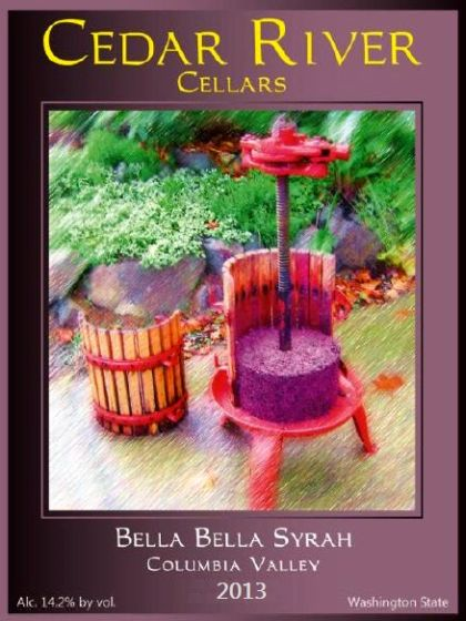 cedar-river-cellars-bella-bella-syrah-2013-label