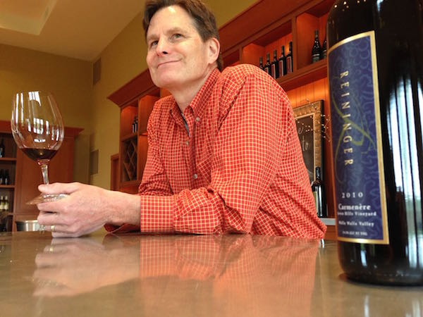 Chuck Reininger is owner of Reininger Winery in Walla Walla, Washington